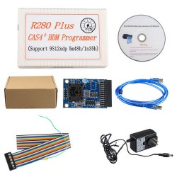 CAS4 BDM Mileage Programmer Support MC9S12XEP100 5M48H 1N35H Latest Programmer  R280 Plus