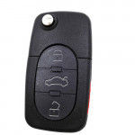 Audi A6 3+1 Buttons Remote 315Mhz Car key 4DO837231PE with 48 chip