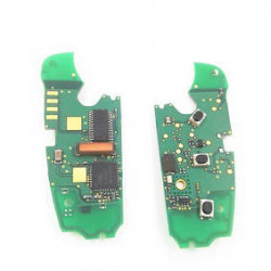 Audi A6L 3 Buttons Remote Key Control Circuit Board 315MHz