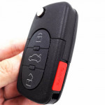 Audi TT A6 Quattro Remote key Entry Fob 3+1 Button 315MHZ 4D0837231M wiht 48 chip