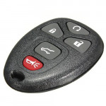 Cadillac Chevrolet 5 Button Keyless Entry Remote Key Fob Transmitter