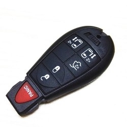 Chrysler Jeep Fobik Smart Remote key 315Mhz with 46 Electronic Chip uncut blade