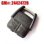 Opel 3 Buttons 433.92MHz Remote Key