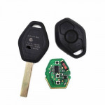 BMW CAS2 315/433MHZ Remote Key With 46 Electronic Chip HU92 Blade