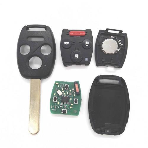 Honda crv accord g8d 2008 2012 313 8mhz remote key fob 3 1 for Honda replacement key cost