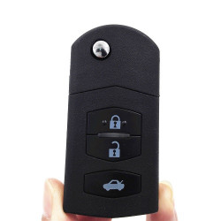 New Mazda 2 M2 Flip 433mhz Remote Key 3 Buttons