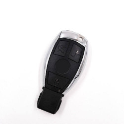Newest 3 Buttons Smart Remote Car Key 433MHZ with NEC for Mercedes-Benz MB Suitable for All IR wipe equipment(with LOGO)