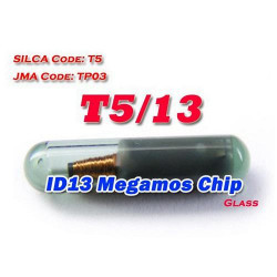 ID 13 (T5) Megamos glass Chip high quality wholesale 10pcs/lot