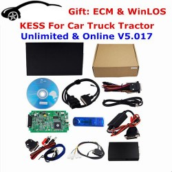 Kess 2 V5.017 1000% No Token Limit OBD2 Manager Tuning Kit SW V2.22 ECU Online Master Version Programmer