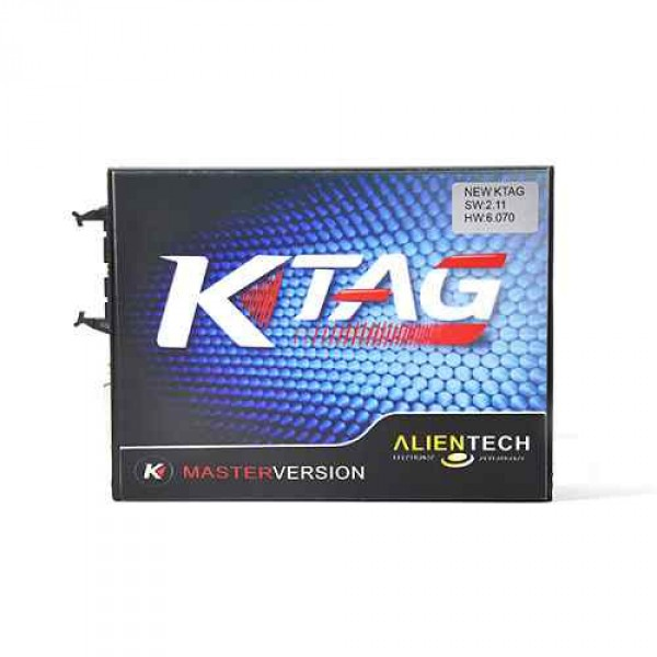 KTAG K-TAG V6.070 V2.11 ECU Programming Tool Master Version Hardware with Free ECM TITANIUM